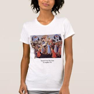 Pendiente de la cruz por Angelico Fra Camisetas