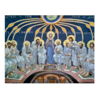 Pendiente de Mikhail Vrubel- del Espíritu Santo en Tarjeta Postal