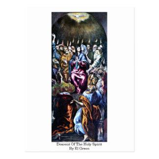Pendiente del Espíritu Santo de El Greco Postal
