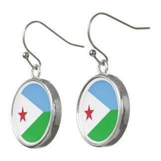 Pendientes Bandera de Djibouti