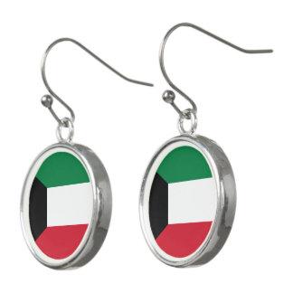 Pendientes Bandera de Kuwait