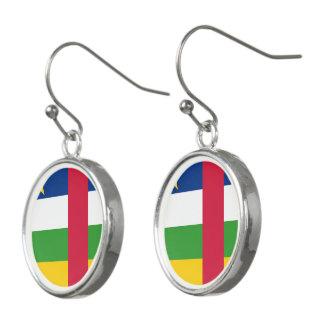 Pendientes Bandera de la República Centroafricana