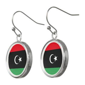 Pendientes Bandera de Libia