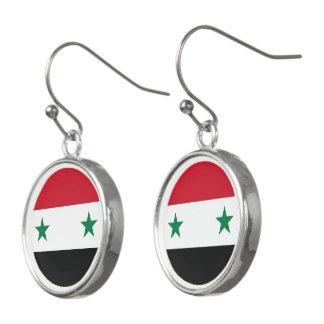 Pendientes Bandera de Siria