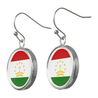 Pendientes Bandera de Tayikistán