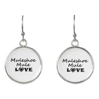 Pendientes del amor de la mula de Muleshoe