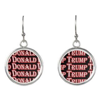 Pendientes Donald Trump