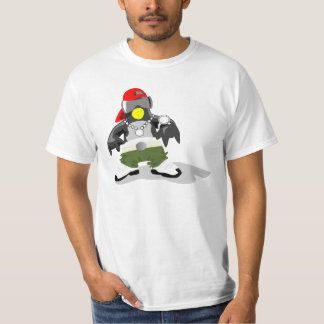 Penguin hip hop camiseta