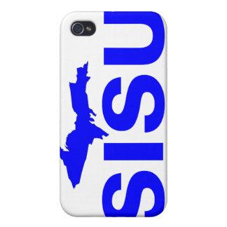 península superior Michigan del diseño SISU del iPhone 4 Protector