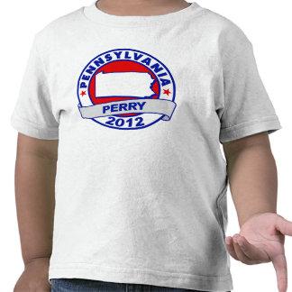 Pennsylvania Rick Perry Camisetas