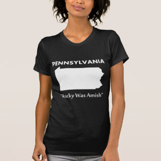 Pennsylvania - Rocky era Amish Camiseta
