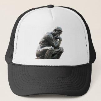 Pensador de Rodin - gorra del casquillo de