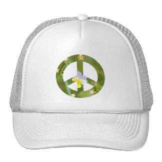 Pensamiento de la paz gorra