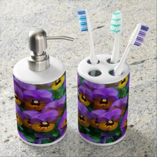 Pensamiento de Purpley - sistema del dispensador Vasos Para Cepillos De Dientes