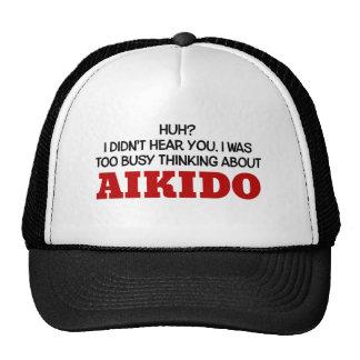 Pensamiento demasiado ocupado en Aikido Gorra