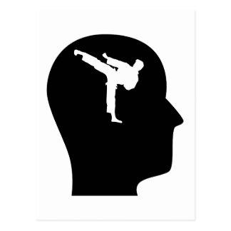 Pensamiento en artes marciales postal