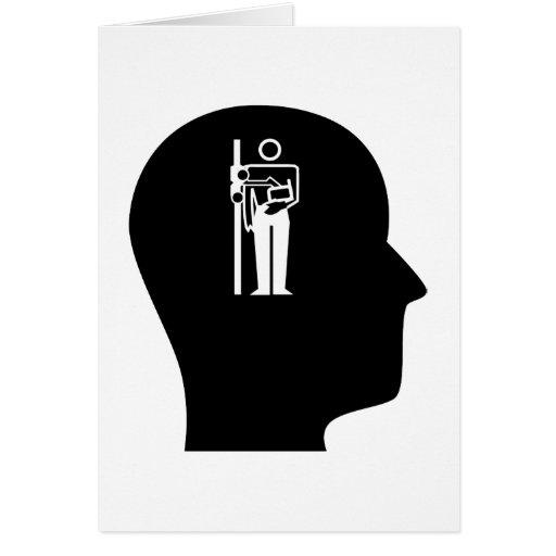 Pensamiento en la radiología felicitaciones