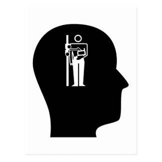 Pensamiento en la radiología postales