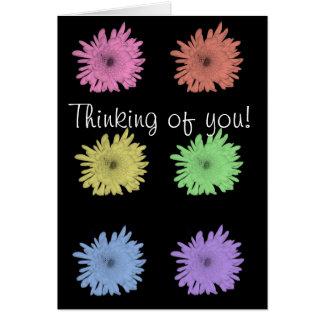 ¡Pensamiento en usted! Felicitacion