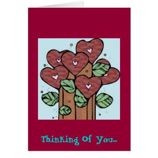 Pensamiento en usted…. felicitacion