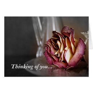 Pensamiento en usted… felicitacion