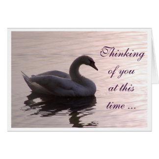 Pensamiento en usted… tarjeta pequeña
