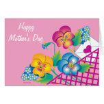 Pensamientos felices del día de madre de la TARJET Felicitaciones
