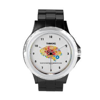 Pensando el acto en conseguir mis engranajes en relojes de pulsera