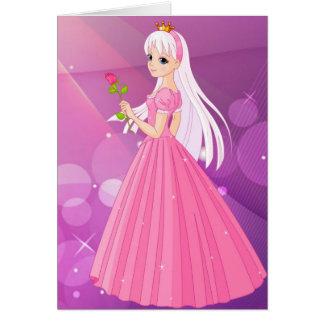 Pensando en usted a princesa Cards Tarjeta De Felicitación