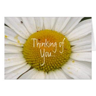 Pensando en, usted… tarjeta pequeña