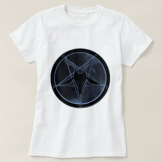 Pentagram azul camiseta