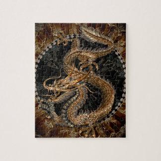 Pentagram del dragón puzzle