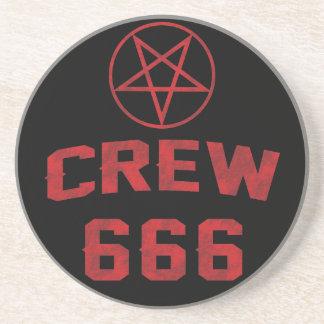 Pentagram del equipo 666 apoyavasos
