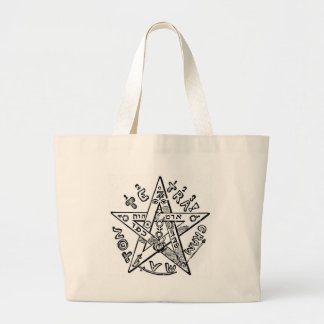 Pentagram_ (Levi) Bolsa De Tela Grande