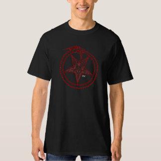 pentagram rojo camisas