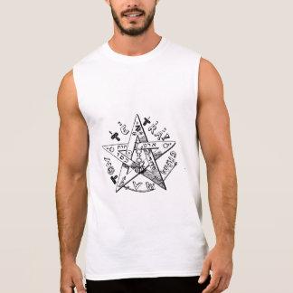 Pentagram satánico camiseta sin mangas