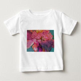 peony floral camiseta