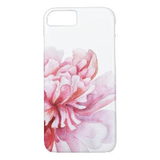 Peony rosado funda iPhone 7
