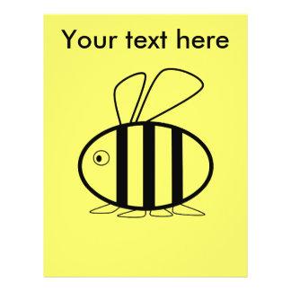 Pequeña abeja folleto 21,6 x 28 cm