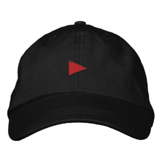 Pequeña advertencia del arte gorra bordada