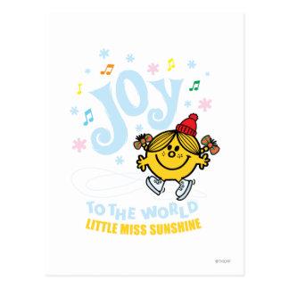 Pequeña alegría de Srta. Sunshine el   al mundo Postal