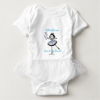 Pequeña bailarina - llevada para ser agraciado body para bebé