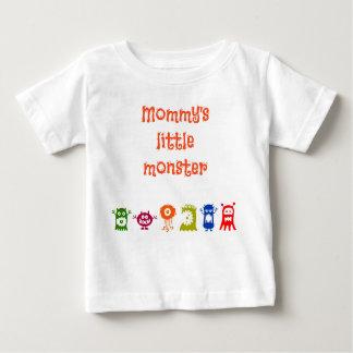 pequeña camisa del monstruo