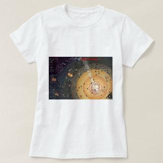 Pequeña camiseta de las señoras, colonización de