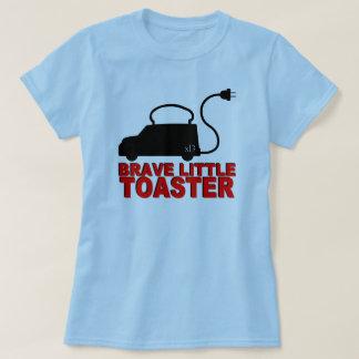Pequeña camiseta valiente de la tostadora