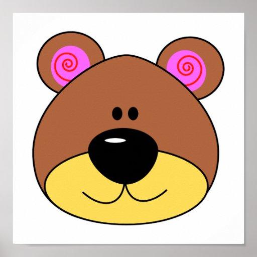 Caras de osos animados - Imagui