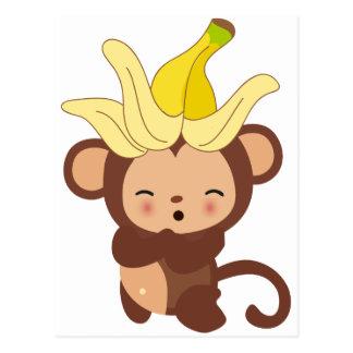 Pequeña colección 108 del mono postal