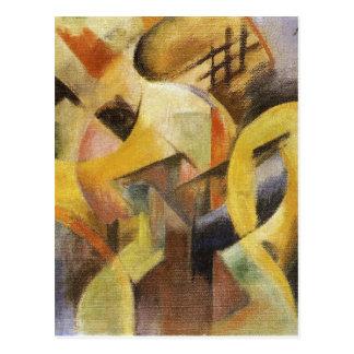 Pequeña composición I de Franz Marc Postal