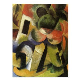 Pequeña composición II de Franz Marc Postal