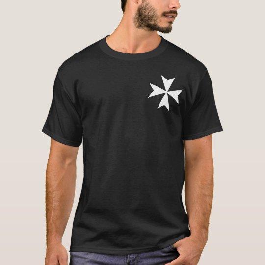 Pequeña cruz maltesa camiseta